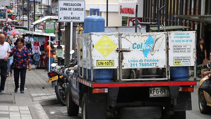 Gas en pipa con abastecimiento a medias