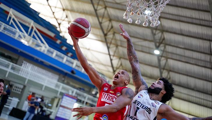 Cafeteros avanzó a segunda ronda del campeonato profesional de baloncesto