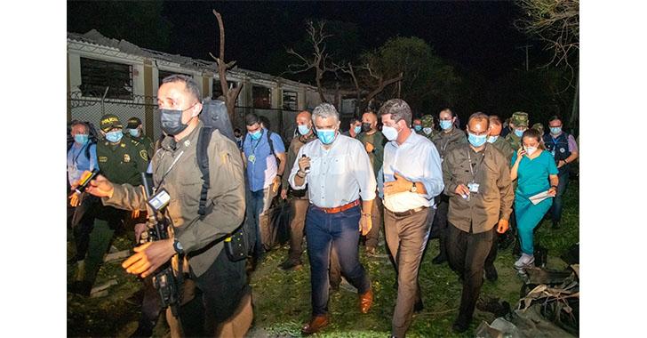 El Gobierno colombiano ofrece recompensa por atentado contra brigada militar