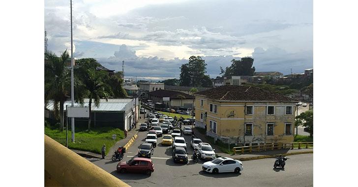 Con plantón restringen tránsito por sector de La Estación