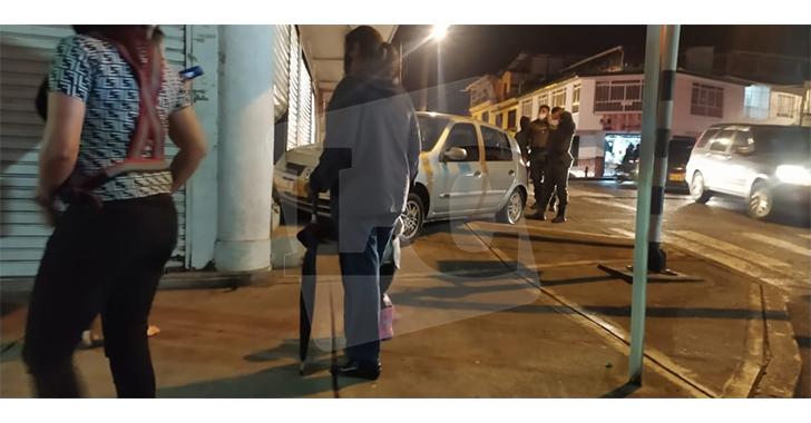 Accidente en el sector del San José