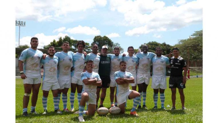 Equipo de Salento, campeón en rugby