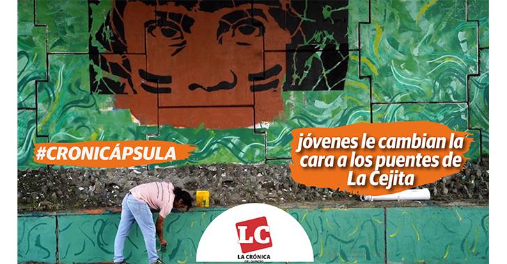 #Cronicápsula   Jóvenes se ponen la camiseta para recuperar puentes de 'La Cejita'