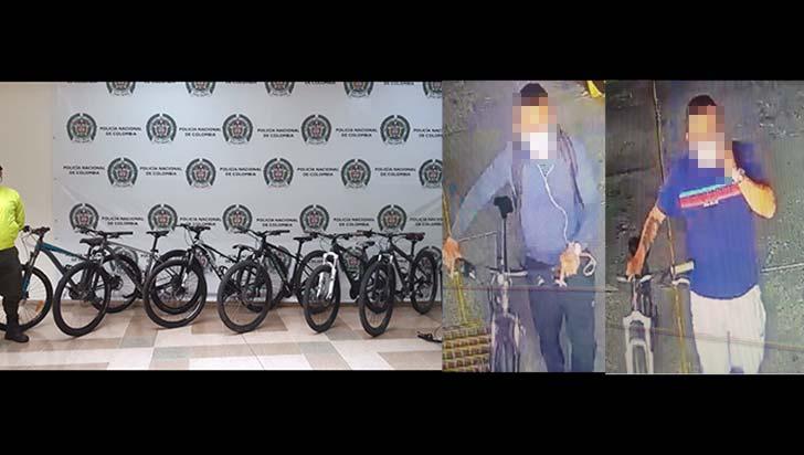 Sospechosos de robar 7 bicicletas fueron identificados pero no judicializados