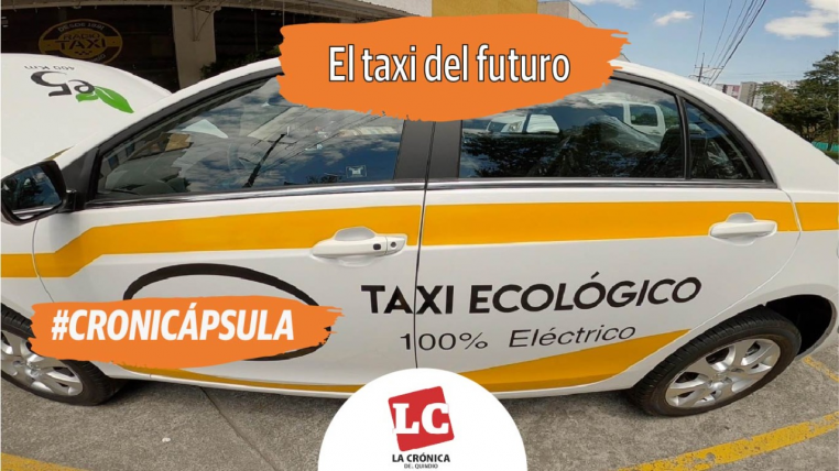 #CRONICÁPSULA  El taxi del futuro ya rueda en Armenia