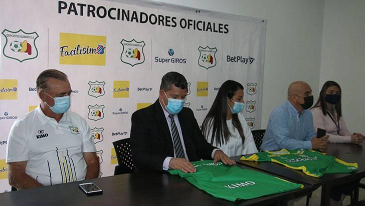 BetPlay, Facilísimo y Supergiros 'apostaron' por el D. Quindío
