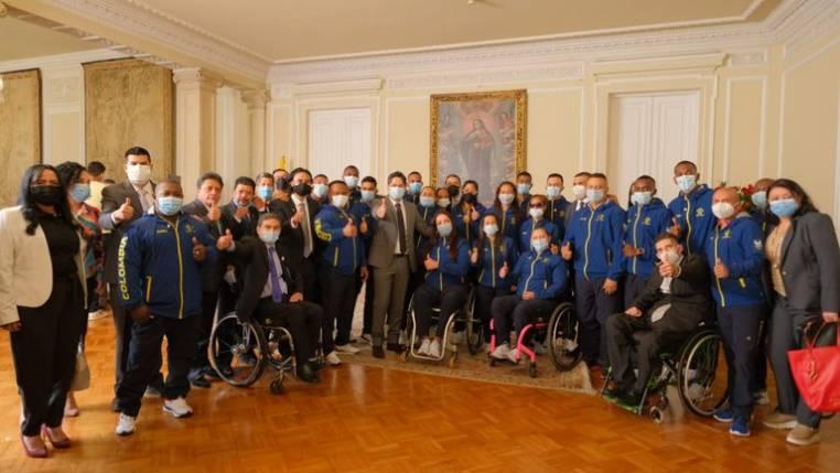 Lista la nómina colombiana de los Juegos Paralímpicos de Tokio