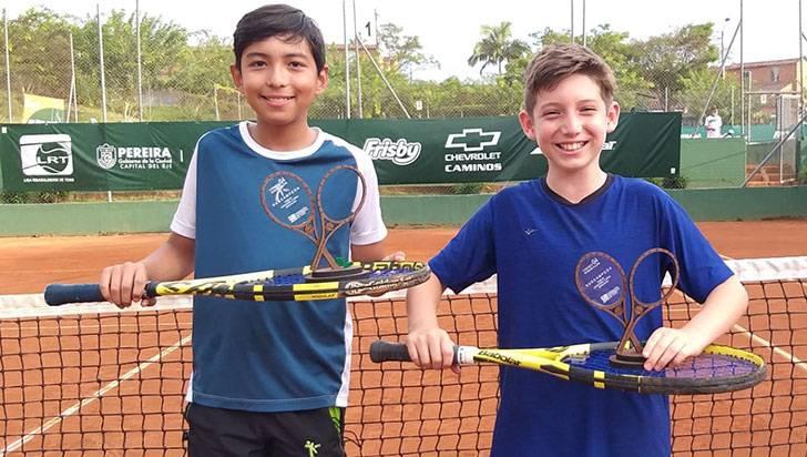 Quindío obtuvo 6 títulos en Torneo Nacional Grado 4 de Tenis