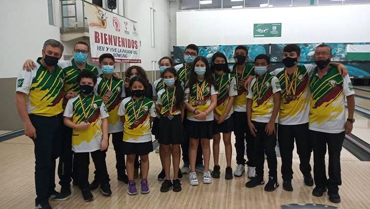 Quindío, subcampeón del Campeonato Nacional de Bolos Categoría Menores