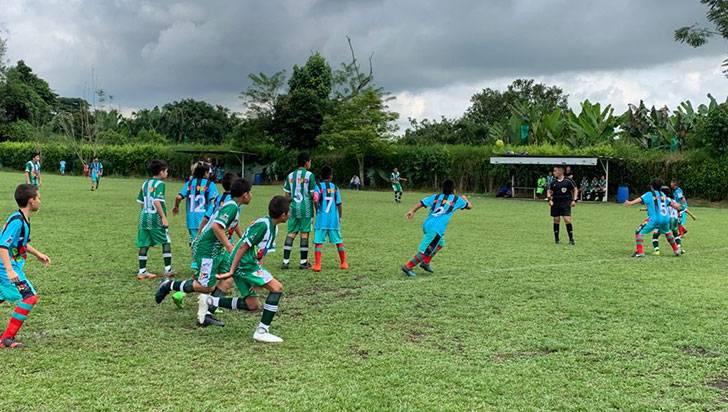 Con goleadas se inició la Liga Infantil de Fútbol Boy Toys