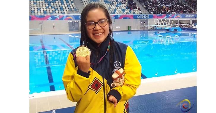 Laura González, primera mujer en ganar medalla paralímpica en natación para Colombia
