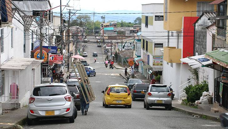 En el barrio La Patria se quedaron sin puesto de salud y coliseo