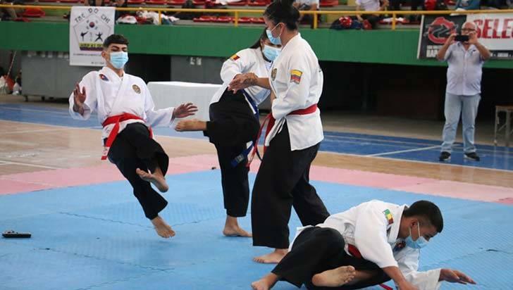 Quindío rindió en el Campeonato Nacional Interclubes de Hapkido