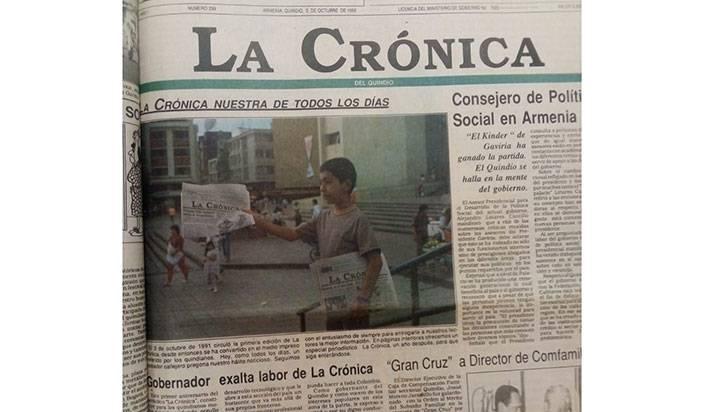 La Crónica del Quindío y su primera década de información cultural y patrimonial