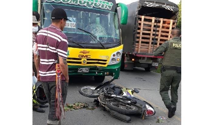 Una mujer perdió la vida en accidente de tránsito