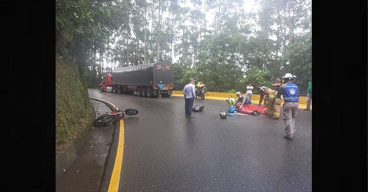 Accidente de tránsito en La Línea