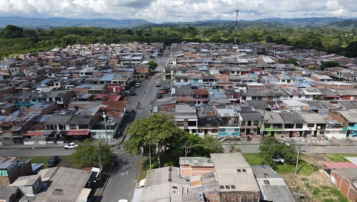La mitad de los asesinatos en La Tebaida ocurrieron en un solo barrio