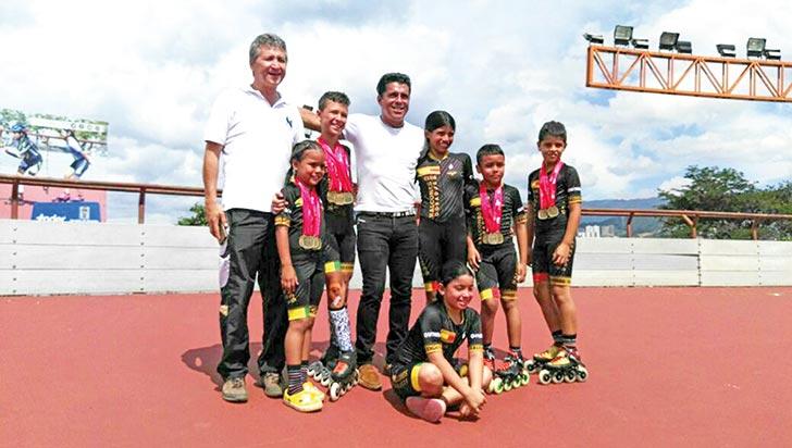 Kayros y Halcones ganaron oro y se destacaron en interclubes de Medellín