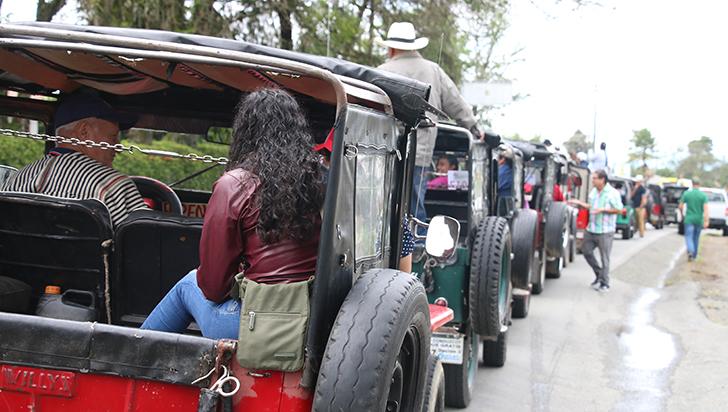 Yiperos protestaron desde Quindío hasta el Valle del Cauca por altos costos de rodaje