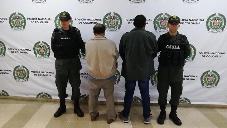 El Gaula de la Policía capturó a tres extorsionistas en flagrancia