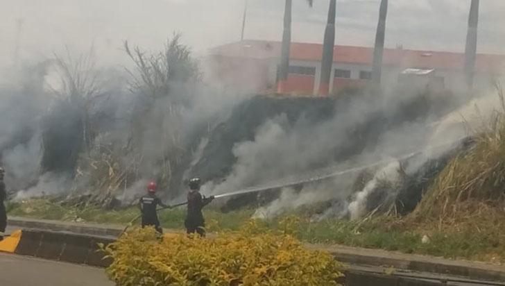 Dos incendios este martes en Armenia