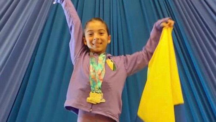 En Suramericano de Gimnasia, quindianas lograron primeros lugares