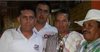 En Génova, Andrés Campuzano se centra en apoyar el deporte