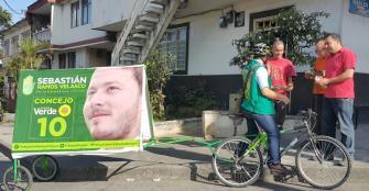 Juan Sebastián Ramos quiere 'darle la vuelta' a Calarcá en bicicleta