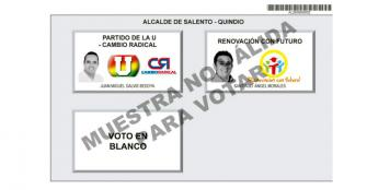 Ratificada candidatura de Santiago Ángel Morales a la alcaldía de Salento