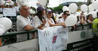 """En marcha, el padre Osorio dijo: """"Yo confío en la Registraduría"""""""