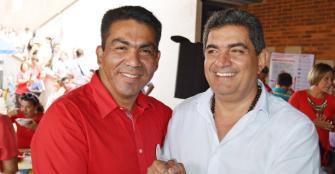 Jamid Alzate cerrará su campaña hoy en Calarcá en compañía del cura Osorio