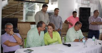 Gómez y Ríos reconocieron sus derrotas en los comicios