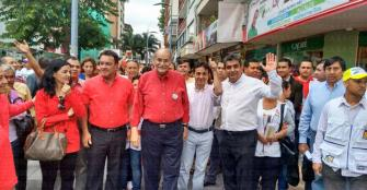 Gobernador electo ganó en cinco municipios