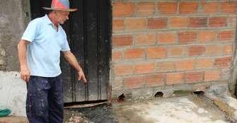 Alcantarillado en Salvador Allende y Puerto Rico, problema comunitario