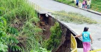 Habitantes protestarán en Jardines de La Fachada por mal estado del puente
