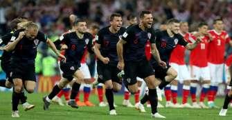 En dramático juego, Croacia eliminó al anfitrión Rusia