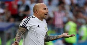 Jorge Sampaoli por ahora tomará a Argentina sub-20