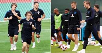Croacia - Inglaterra, un juego inédito por un cupo a la gran final
