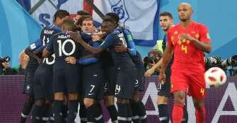 Francia va por su segundo título mundial, tras vencer 2-1 a Bélgica
