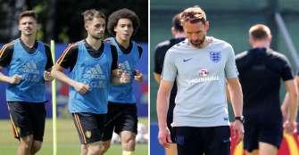 Desanimados, Bélgica e Inglaterra juegan por el honor y el premio económico