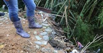 Cuatro viviendas tienen riesgo de colapso en el Veracruz