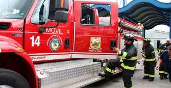 Bomberos están sin recibir dotación completa para atender emergencias