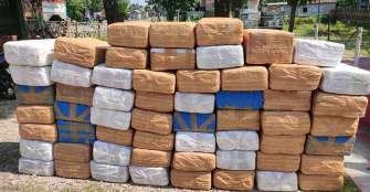 """""""¿Alguien perdió media tonelada de cannabis?"""", preguntó la Policía de India y """"conquistó"""" Twitter"""