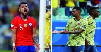 El campeón Chile rivalizará en cuartos ante Colombia
