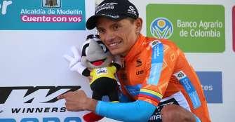 Heiner Parra se impuso en La  Línea y lidera Vuelta a Colombia