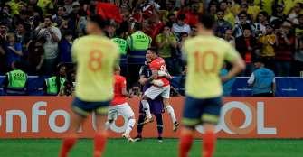 Los penales sacaron a Colombia de la Copa