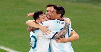 Clásico Argentina-Brasil  en la semifinal de la Copa
