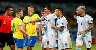 AFA envió descargo a Conmebol por arbitraje ante Brasil