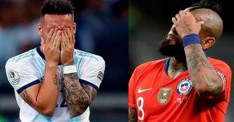 Argentina-Chile,  las últimas finales, ahora por el tercer lugar de Copa