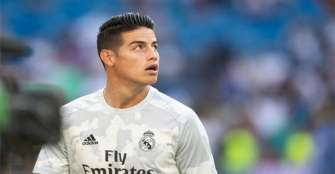 James Rodríguez titular con el Real Madrid